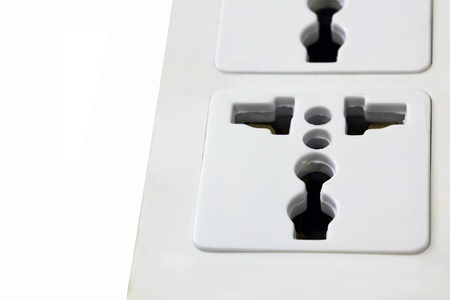 Outlet for safety. photo