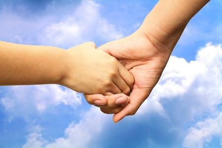 Hands in the sky.