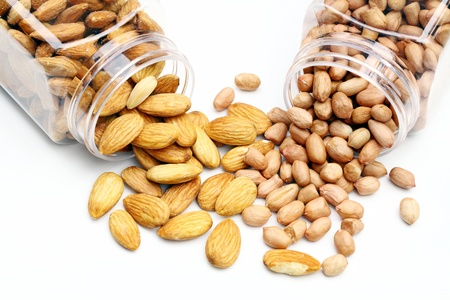 almond and peanut Stock Photo - 9731256