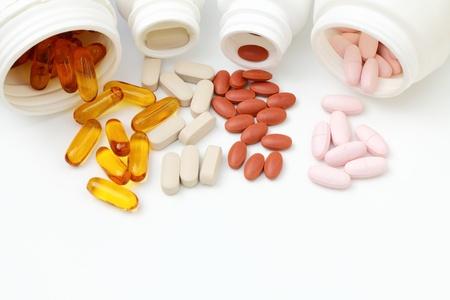medicamentos: Suplemento  Foto de archivo