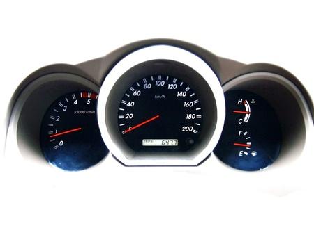 chilometro: cruscotto auto