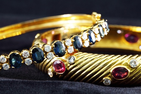 scrap gold: Jewelry Stock Photo