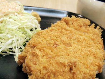 Japanese style fried pork.