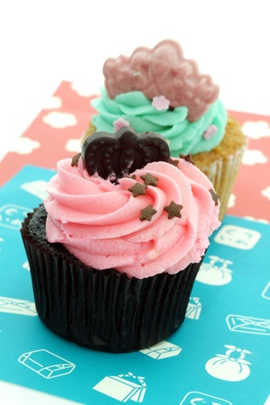 Colorful Cup Cake photo