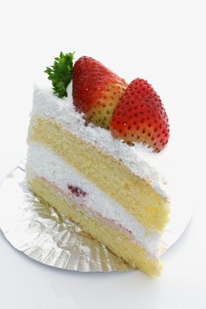 Strawberry cake Stock Photo - 11018501