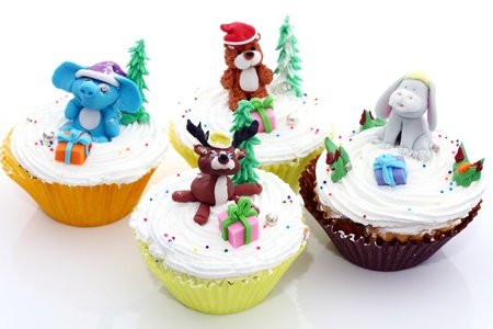 cup cakes: Cup cake cute animals