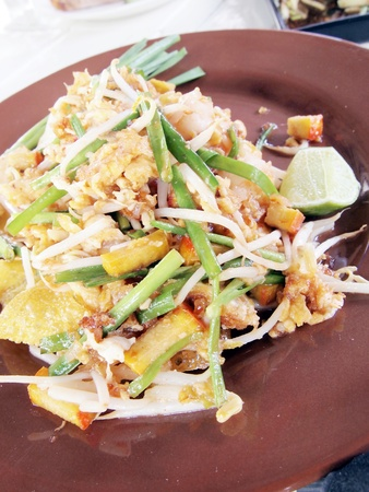 mouth watering: Pad Thai   Stock Photo