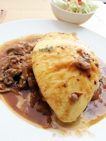 Tortilla de arroz de Jap�n, los alimentos Foto de archivo - 12118527