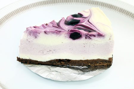 blueberry cheesecake Stock Photo - 12364544
