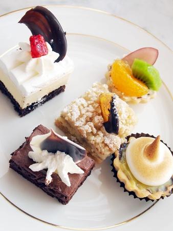 mini cake  photo