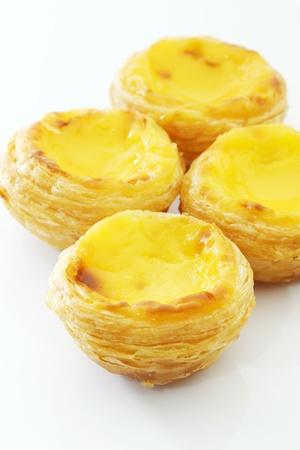macau: Egg tart  Stock Photo