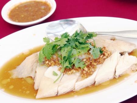 Chicken boiled