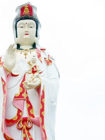 Statue of Guan Yin  photo