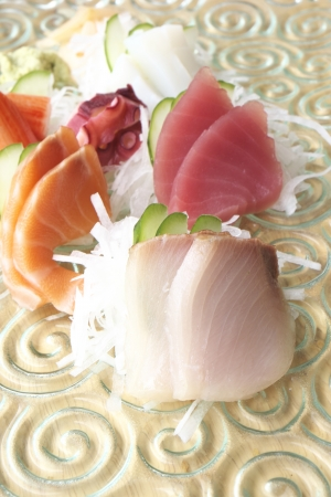 Japanese sashimi photo