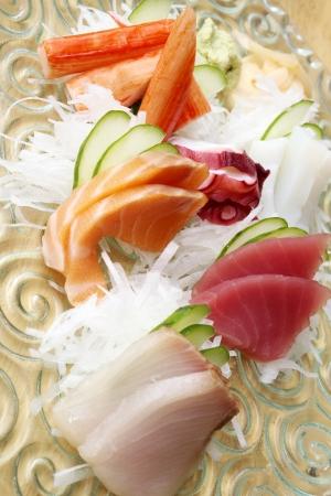 Japanese sashimi photo