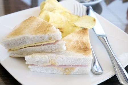 ham and cheese: Sandwich ham cheese