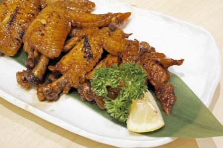 Chicken wings photo
