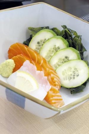 Sashimi salmon. Stock Photo - 18815049