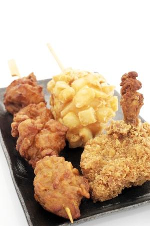 Korean fried chicken. photo
