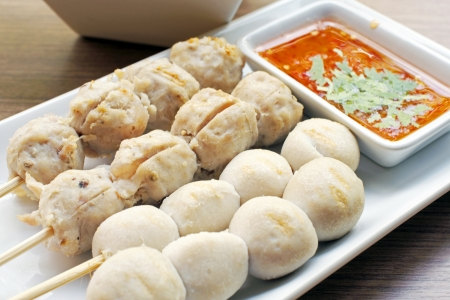 Thai Meat ball photo