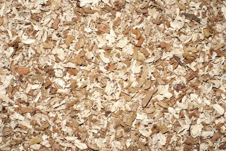 Wood sawdust photo