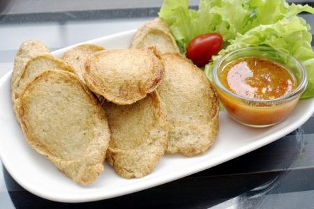 Thai fish cakes photo