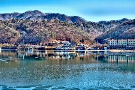 net trade: Nami Island Korea