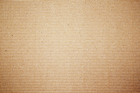 Paper texture - brown paper sheet, corrugated. photo