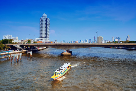 phraya: Chao Phraya en Bangkok