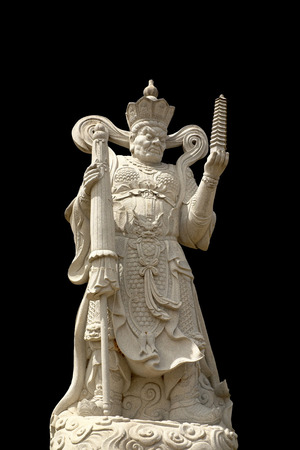 deities: Statues of Chinese deities