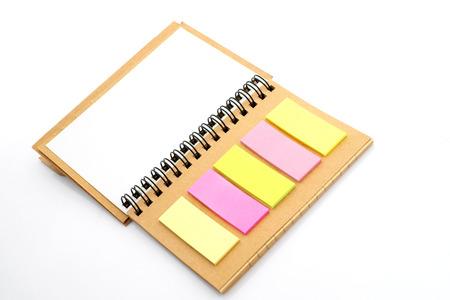 spiral notebook: Spiral notebook Stock Photo