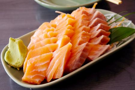 sashimi: Sashimi salmon