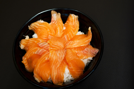 Japanese rice salmon