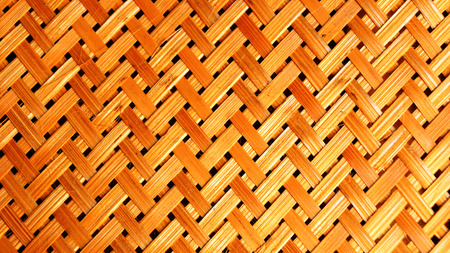 Empty Brown thai Bamboo  lamp Background photo