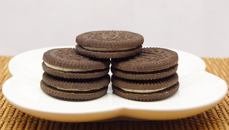 cookies with cream filling photo