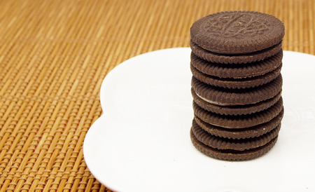 indulgence: cookies with cream filling