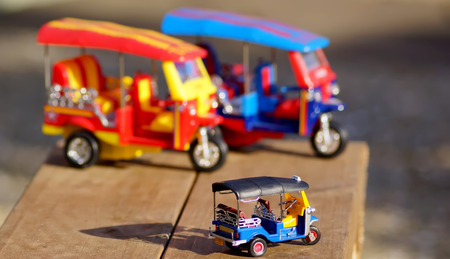 teeny: Tuk-Tuk Model toys,Thailand