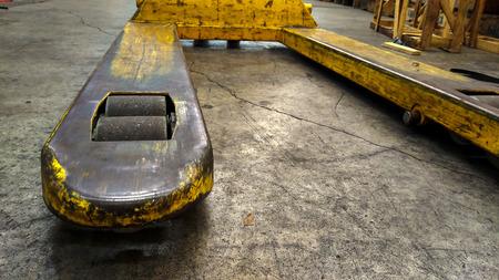 hand truck: hand pallet truck wheel.