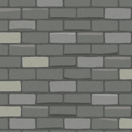 Brick wall hand-draw style Ilustração