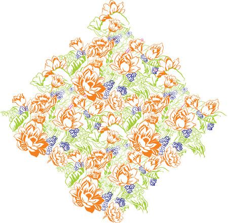 blumen verzierung: floral ornament