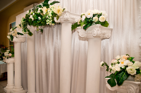 decor: wedding decor Stock Photo
