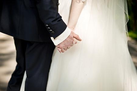 pareja de esposos: matrimonio
