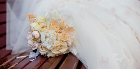 wedding flowers: wedding bouquet Stock Photo