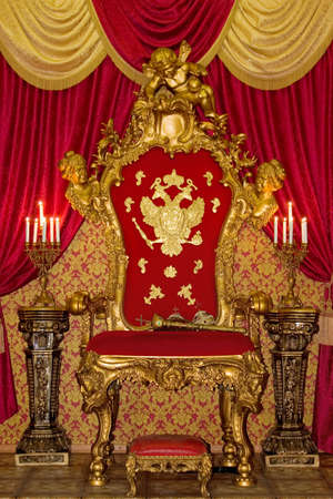 Smart royal throne