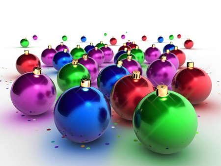 Set of christmas decoration Stock Photo - 621929