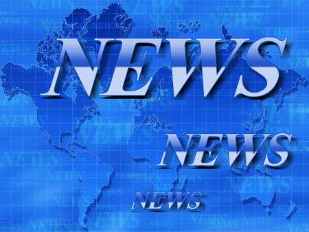World news. Conceptual   image.