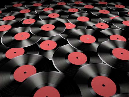 Many vinyl records Stock Photo - 814114