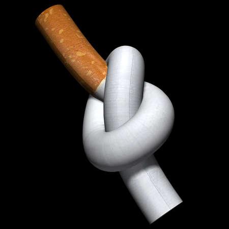 Fumare Rinunciato. Archivio Fotografico
