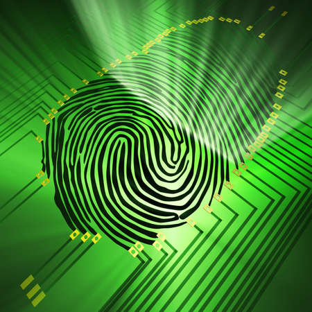 fingerprint: Scanning of a fingerprint with  new technologies