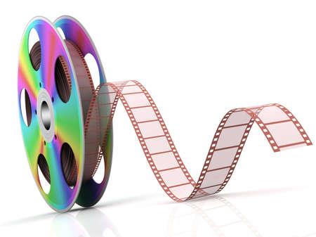 duplication: Video CD . Conceptual 3d rendered illustration .